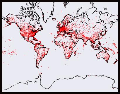 carte aéroports