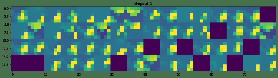 Réseau de neurones convolutif : Visualisation de l'activation intermédiaire 15
