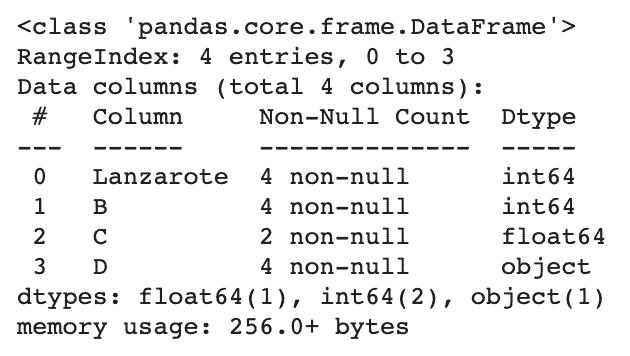 Mémo Pandas pour le traitement de données - Summary